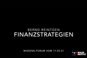 """Wissens-Forum """"Sichere und erfolgreiche Finanzstrategien in schwierigen Zeiten"""""""